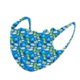 18 PCS Kids Reusable Washable Face Covering with