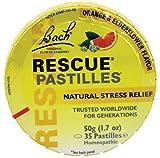 Bach Flower Remedies - Rescue Pastilles Stress Relief, 50 gms, 1.7 oz