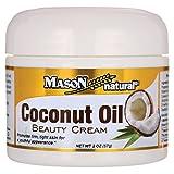 Mason Natural Coconut Oil Beauty Cream, 2 Ounce