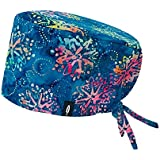 Surgical Cap Model: KAROL – For Long Hair - Multicolored – 100% Cotton (Autoclave) -
