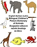 English-Serbian (Latin) Bilingual Children's Picture Dictionary of Animals