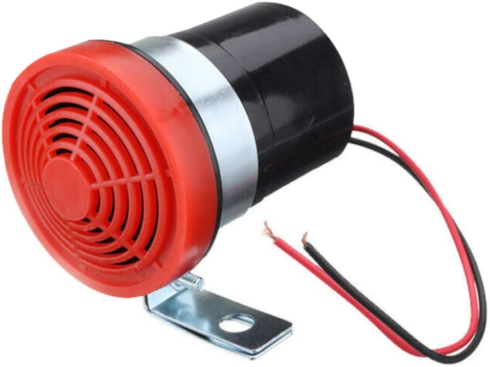 2-24 V 05dB Allarme di retromarcia per auto Buyfunny01 accessorio per avvertire la sirena inversa allarme acustico acustico per auto resistente e universale