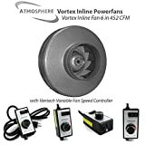 Vortex Powerfans VTX600 Vortex 497 CFM Powerfan, 6 Inch
