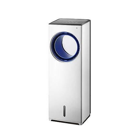 Aire acondicionado evaporativo portátil Torre Refrigerador de aire frío Ventilador Aire acondicionado Humidificador purificador de aire con control remoto Tiempo de 8 horas Adecuado para oficinas y ho: Amazon.es: Hogar