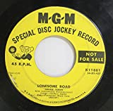Louise Tobin: Louise Tobin 45 RPM Lonesome Road / Hurry Home