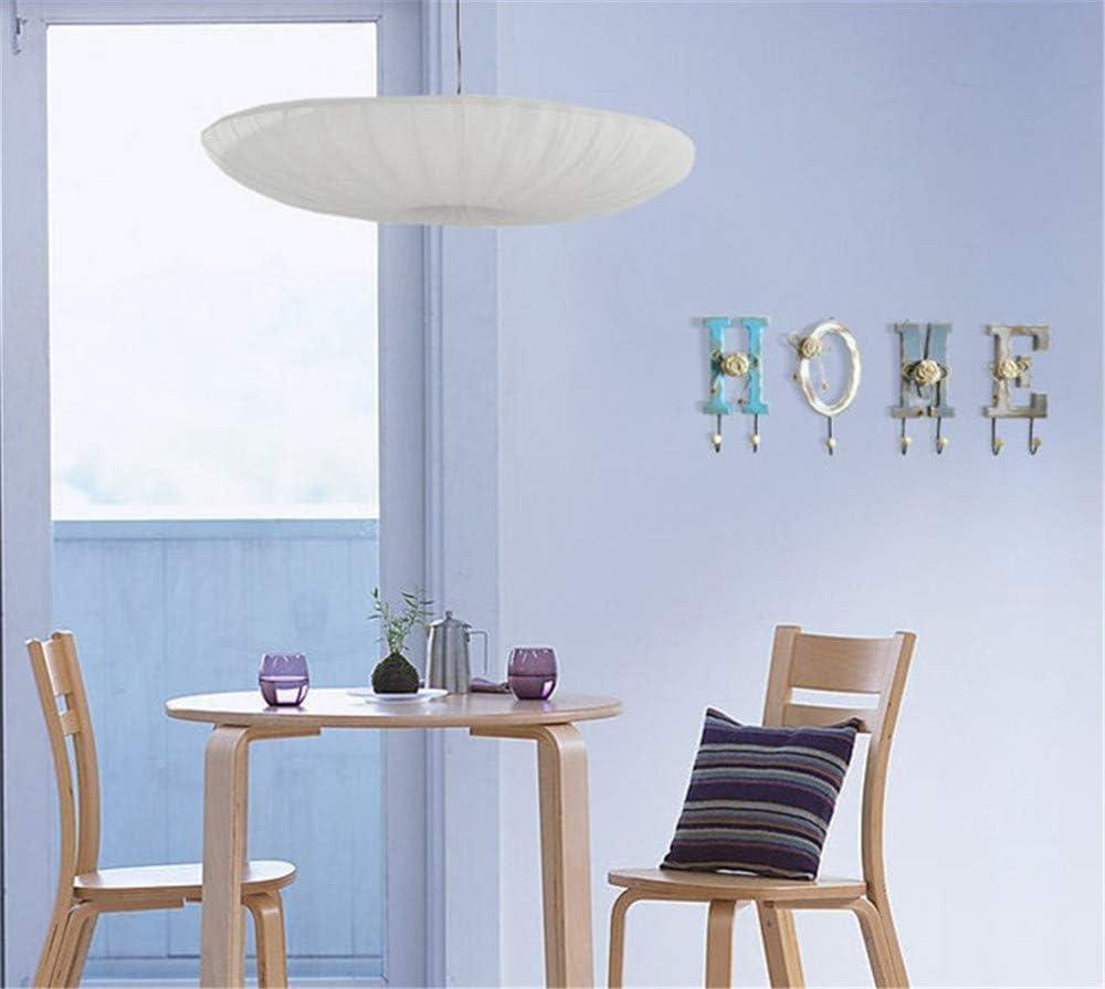 Decorazione per Soggiorno Hava Kolari Appendiabiti da Parete in Legno con 7 Ganci Love Home Shabby Camera da Letto Cucina Love