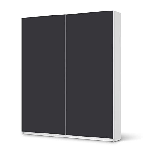 Ikea schrank weiß schiebetüren  Möbeldekor für IKEA Pax Schrank 236 cm Höhe - Schiebetür ...