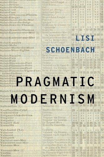 Pragmatic Modernism (Modernist Literature and Culture)