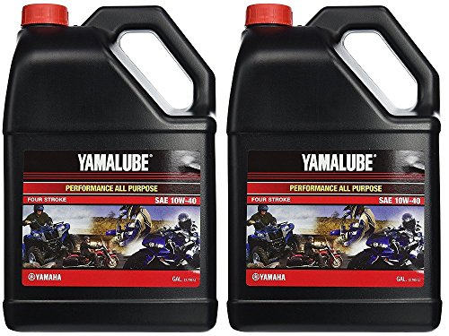 Clutch Oil - Yamalube All Purpose 4 Four Stroke Oil 10w-40 1 Gallon (2 Gallons)