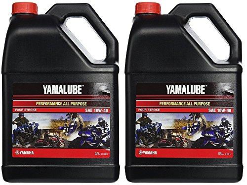 Yamalube All Purpose 4 Four Stroke Oil 10w-40 1 Gallon (2 Gallons) ()