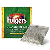 filter packaged coffee - Folgers 4 Cup Hotel Decaf Classic Roast Coffee Filter Packs - 200 Ct.