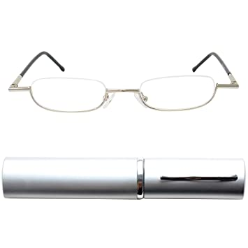 5bd351838d Mini Slim Half Eye Metal Reading Glasses