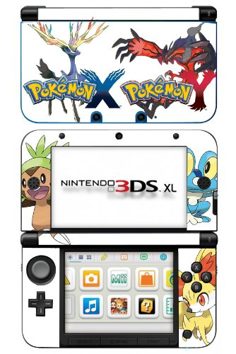 pokemon x and y game skin for nintendo 3ds xl console buy online