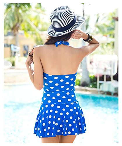 Mujer que adelgaza el traje de baño Beachwear del vestido más tamaño , 4 , L