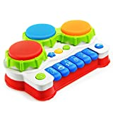 NextX Baby Musical Toys Keyboard Piano Electronic Educational Toys Knock Playing Birthday Gift for Kids