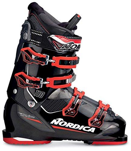 Nordica Cruise 110 Ski Boot 2016 - Black/Red 295 (Nordica Ski Mens)
