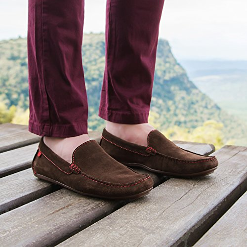 Marc Joseph New York Men's Broadway Loafer Brown Suede outlet original factory outlet cheap online QE8F5UKwcl