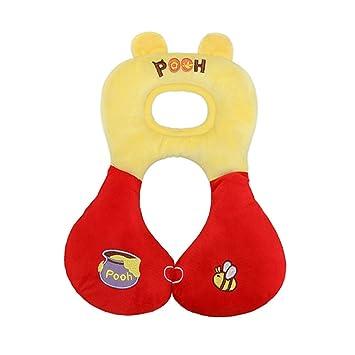 Amazon.com: Bebé de la cabeza soporte de cuello, Amarillo y ...