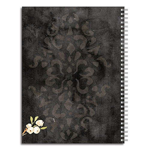 What I Will Make Personalized Religious Spiral Notebook/Journal, 120 College Ruled or Checklist Pages, durable laminated cover, and wire-o spiral. 8.5x11 | 5.5x8.5 | Made in the USA Photo #2