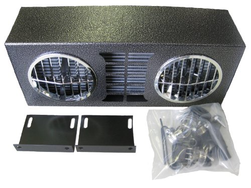 30,000 BTU High Output Auxiliary Heater 12 Volt Dual Fans & Louvers Truck Universal