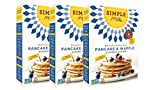 Simple Mills Almond Flour Mix, Pancake & Waffle, 10.7 oz, 3 count