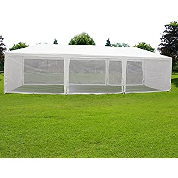 Quictent 10X30 Outdoor Canopy Gazebo Party Wedding Tent Screen House Sun Shade Shelter with Fully Enclosed  sc 1 st  Amazon.com & Amazon.com : Quictent 10X30 Outdoor Canopy Gazebo Party Wedding Tent ...