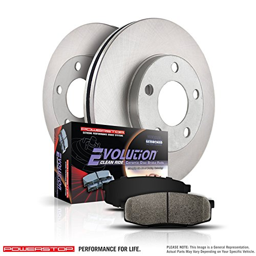 Power Stop KOE4701 Front Stock Replacement Brake Kit by Power Stop