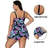 TRAINER SECRET Women's Two Piece Swimwear Dress