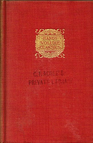 Walden, or, Life in the woods by Henry D. Thoreau, with an Introduction by Charles G. D. Roberts, T. Y. Crowell and Co., New York 1899