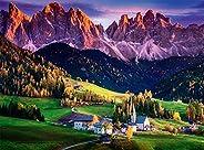 Buffalo Games - Dolomites, Italy - 1000 Piece Jigsaw Puzzle