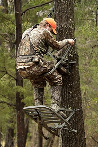 Summit Treestands 81117  Razor SD Climbing Treestand, Mossy Oak by Summit Treestands (Image #3)