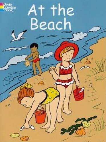 At the Beach (Dover Coloring Books)