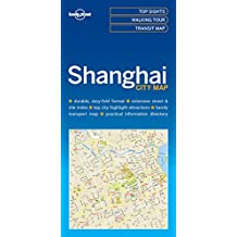 Lonely Planet Shanghai City Map 1st Ed.