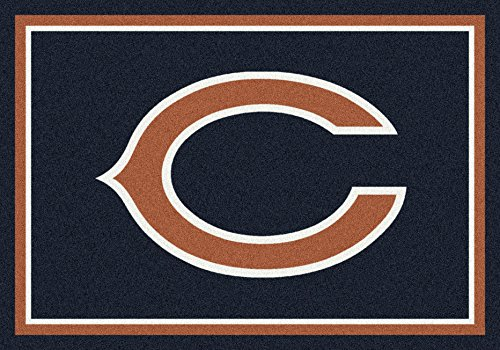 Chicago Bears NFL Team Spirit Area Rug by Milliken, 3'10