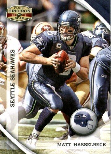2010 Upper Deck Gridiron - 2010 Panini Gridiron Gear Football Card #132 Matt Hasselbeck - Seattle Seahawks - NFL Trading Card