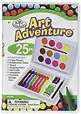 ROYAL BRUSH AVS-502 25 Piece Art Adventure Mini Color Pencil Set, Multicolor