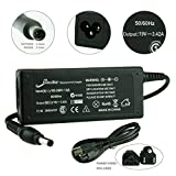 [2 Years Warranty] 3 Prongs - Elivebuy 19V 3.42A 65W AC Adapter/Power Supply&Cord for Asus & IBM-Lenovo Laptops (5.52.5mm)