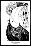 Aubrey Beardsley Poster and Frame (Plastic) - The Peacock Skirt, 1892 (36 x 24 inches)