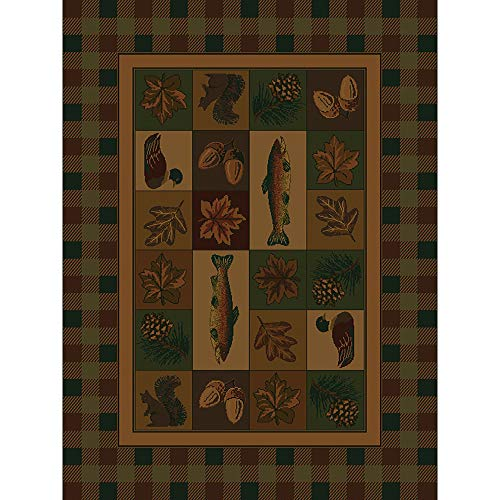 Westfield Home Ridgeland Fisherman's Lodge Runner Rug - 1'11 x 7'6 from by Westfield Home