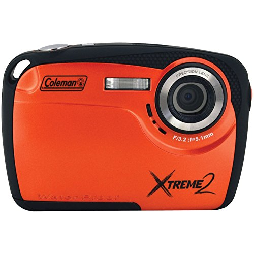 Coleman Xtreme II C12WP-O 16MP Waterproof Digital Camera wit