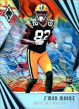 c8e1dd7e62 2018 Phoenix NFL Color Burst  136 J Mon Moore Green Bay Packers Rookie  Official