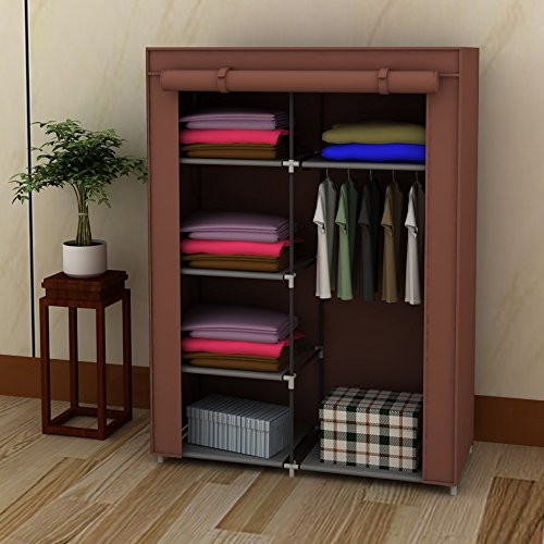 "42"" DIY Portable Closet Wardrobe Non-Woven Fabric Cloth"
