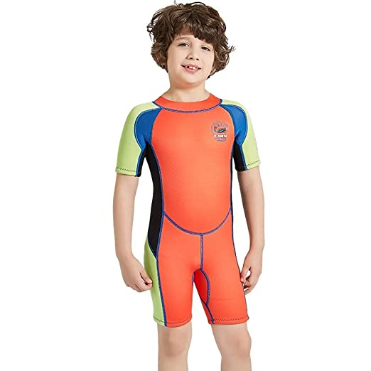 Mhcyy0011 Boys Sunscreen Wetsuit, Snorkel Surfing Swimwear ...