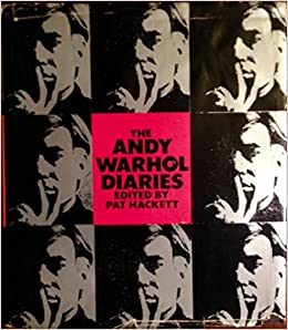 the andy warhol diaries by andy warhol 1989 hardcover