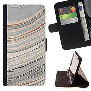 - Abstract Paint Geology Art - Estilo PU billetera de cuero del soporte del tir???¡¯???3n [solapa de cierre] Cubierta- For Samsung Galaxy S5 Mini, SM-G800 ( Devil Case )