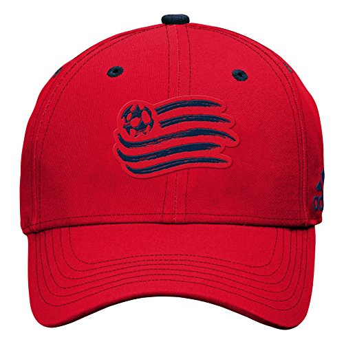 Youth Revolution - Outerstuff MLS New England Revolution Boys Tonal Logo Structured Adjustable Hat, Red, One Size (8)
