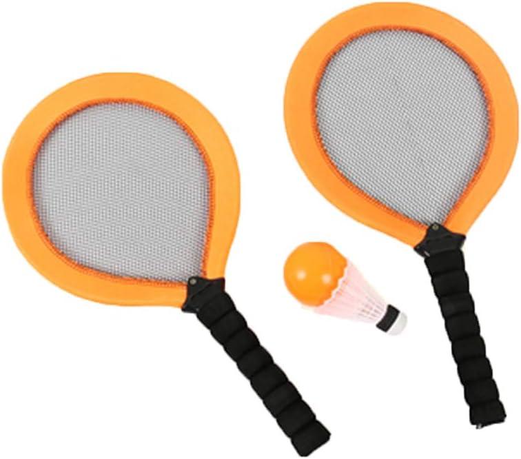 YanYun Badminton Set for Kids Sports Rackets Junior Tennis Racquet Game Outdoor Toys Pink