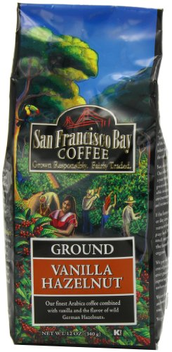 San Francisco Bay Coffee Ground, Vanilla Hazelnut