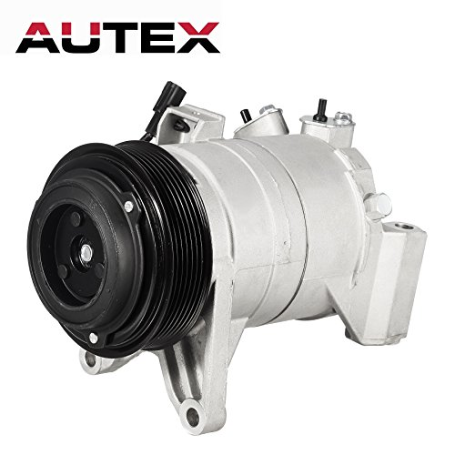 AUTEX AC Compressor and A/C Clutch CO 11319C 3.5L Only Compatible with Nissan Maxima 2008-2014 Murano 2009-2014 Pathfinder 2013-2015 Quest 2011-2015 (Best Ac Compressor For Cars)