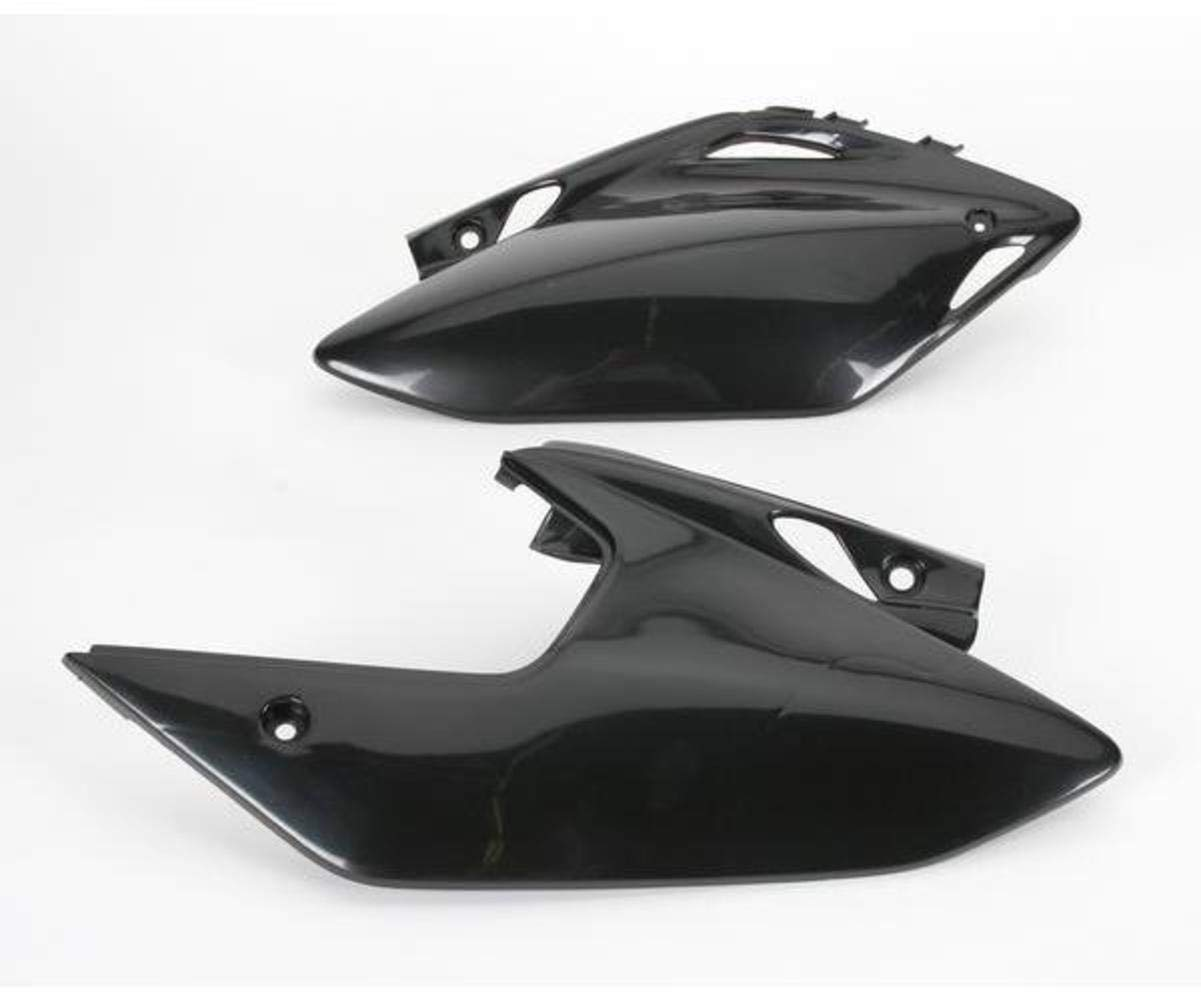 FOR HONDA PANEL SIDE CRF450X BLACK UFO HO04601-001 Replacement Plastic
